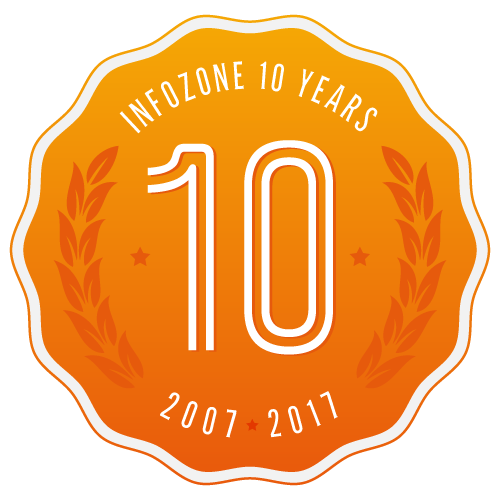 Infozone 10 years! Read about our history
