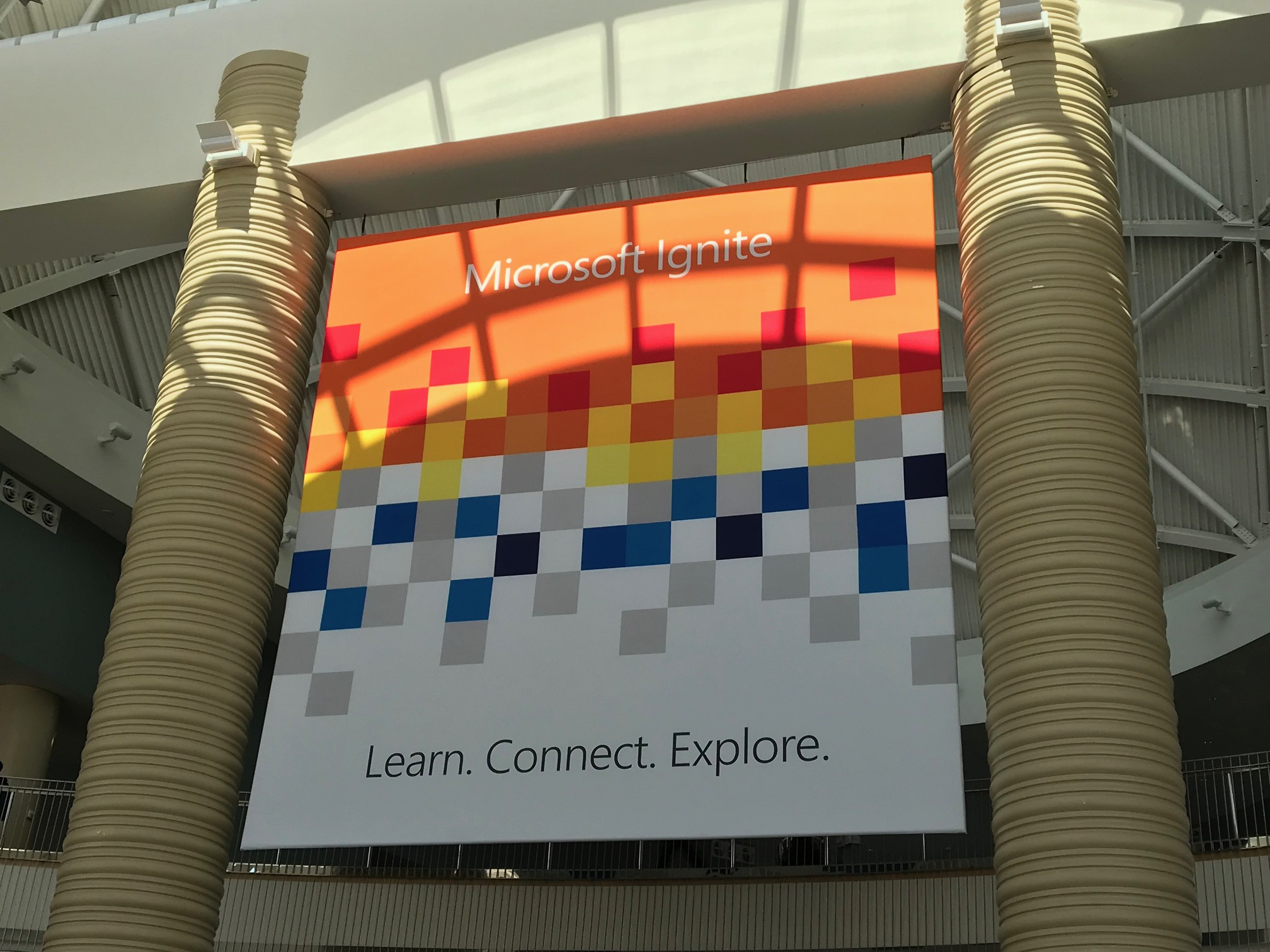 Learn - Explore - Connect på Microsoft Ignite