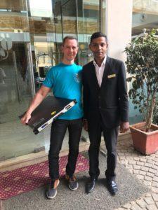 Stefan på Infozone implementerar NetScaler SD-WAN på ett bolag i Indien