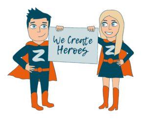 We Create Heroes