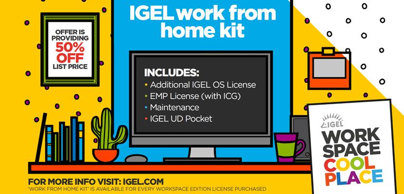 Låt oss berätta mer om IGEL work from home