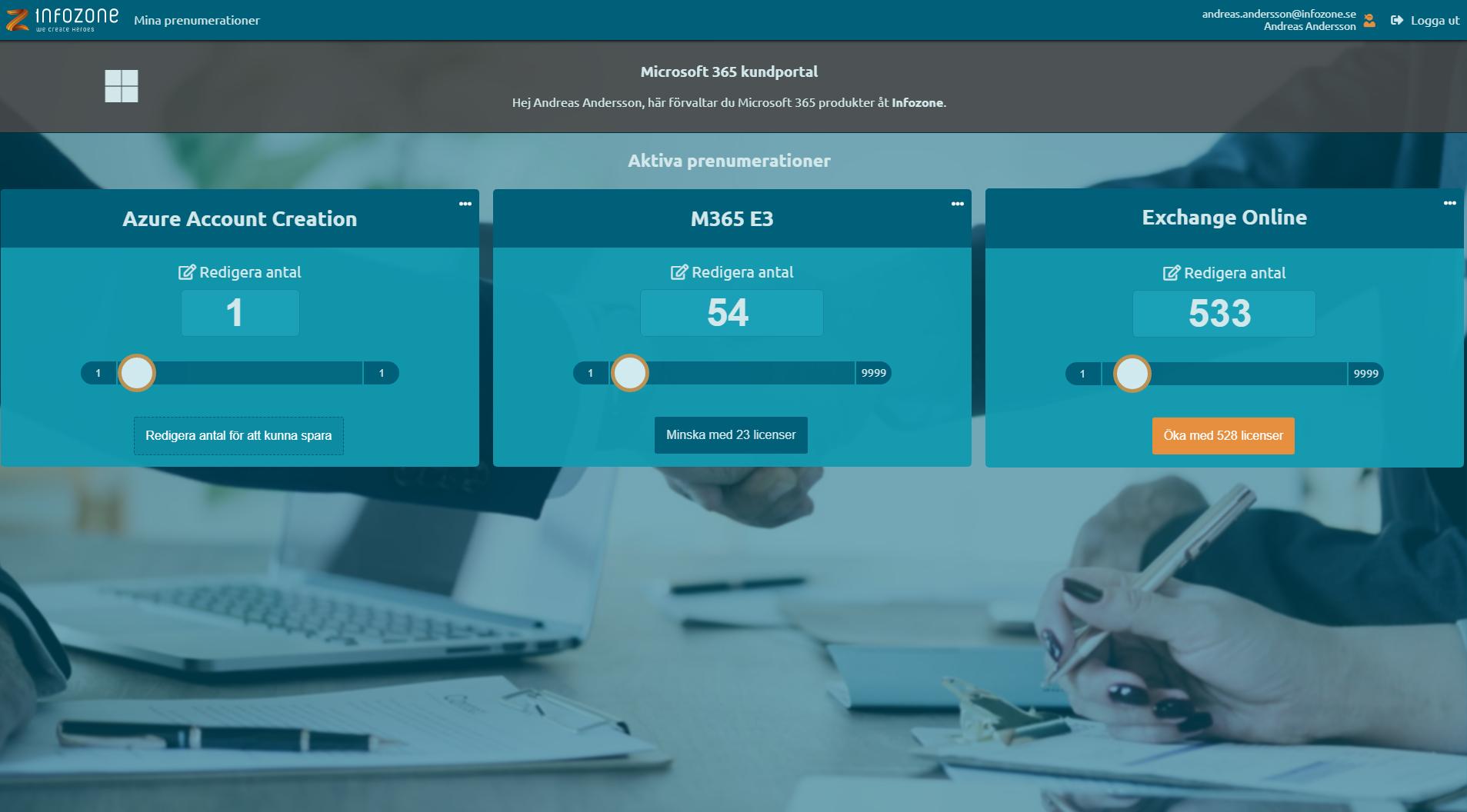 Infozone lanserar en ny kundportal