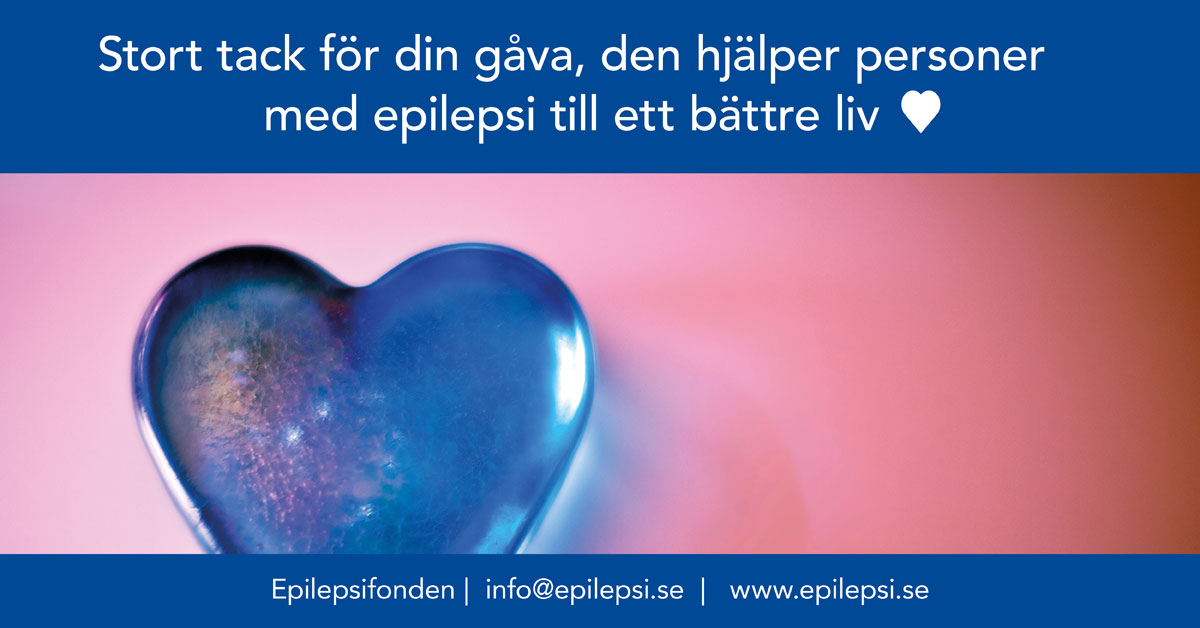Vi stödjer Svenska Epilepsiförbundet